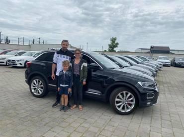 LIVRAISON - VW T-ROC - 2019