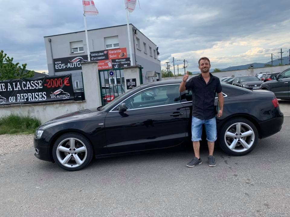 Bonne continuation Nicole ! Audi A5.